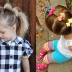 Как сделать прическу ребенку в детский сад на скорую руку? Фото