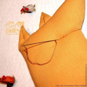 Выкройка лисы