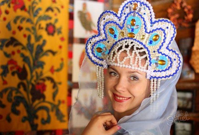Кокошник для русского народного костюма своими руками фото 63