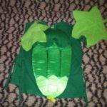 Костюм огурца для мальчика из ткани