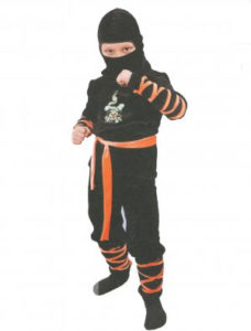 Новогодний костюм ниндзя своими руками фото
