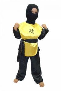 Новогодний костюм ниндзя своими руками