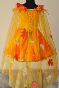Осеннее платье своими руками