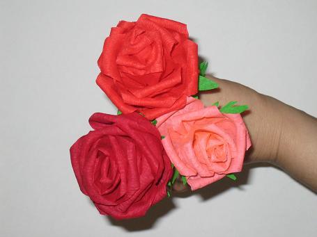 Розы своими руками фото