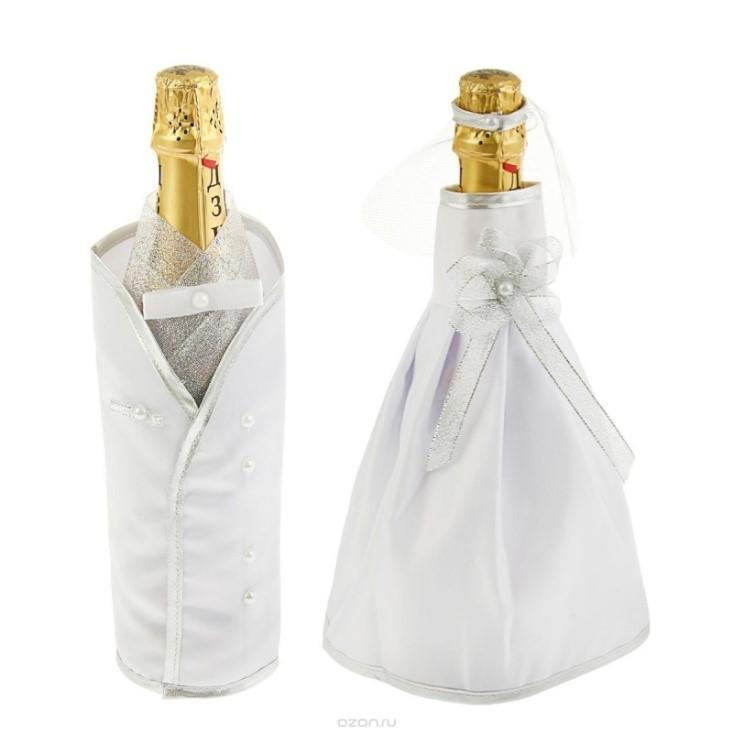 Одежда для бутылок своими руками фото