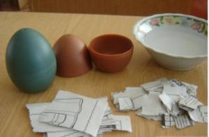 Яйцо из бумаги своими руками