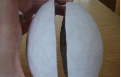 Как сделать из картона яйцо своими руками