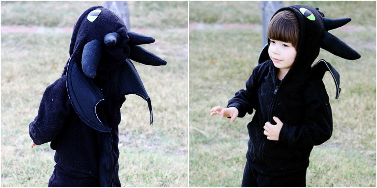 Костюм дракона своими руками для мальчика и девочки. Мастер класс