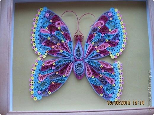 Бабочка своими руками - мастер-класс в технике квиллинг