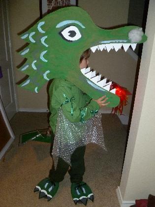 Костюм дракона своими руками фото