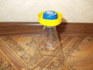 Кубок из бутылки своими руками