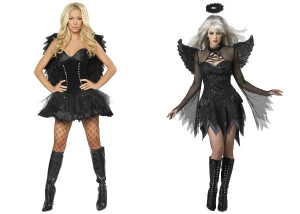 Костюм падшего ангела на хэллоуин своими руками