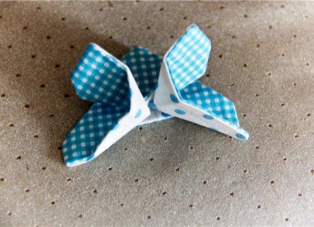 Бабочка из ткани своими руками