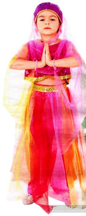 Восточный костюм для девочки своими руками выкройки