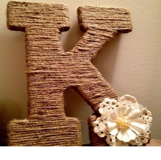 Буквы из картона своими руками фото