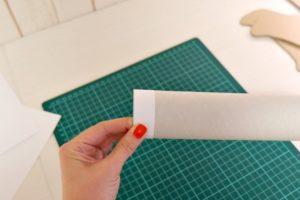 Объемные буквы своими руками из картона