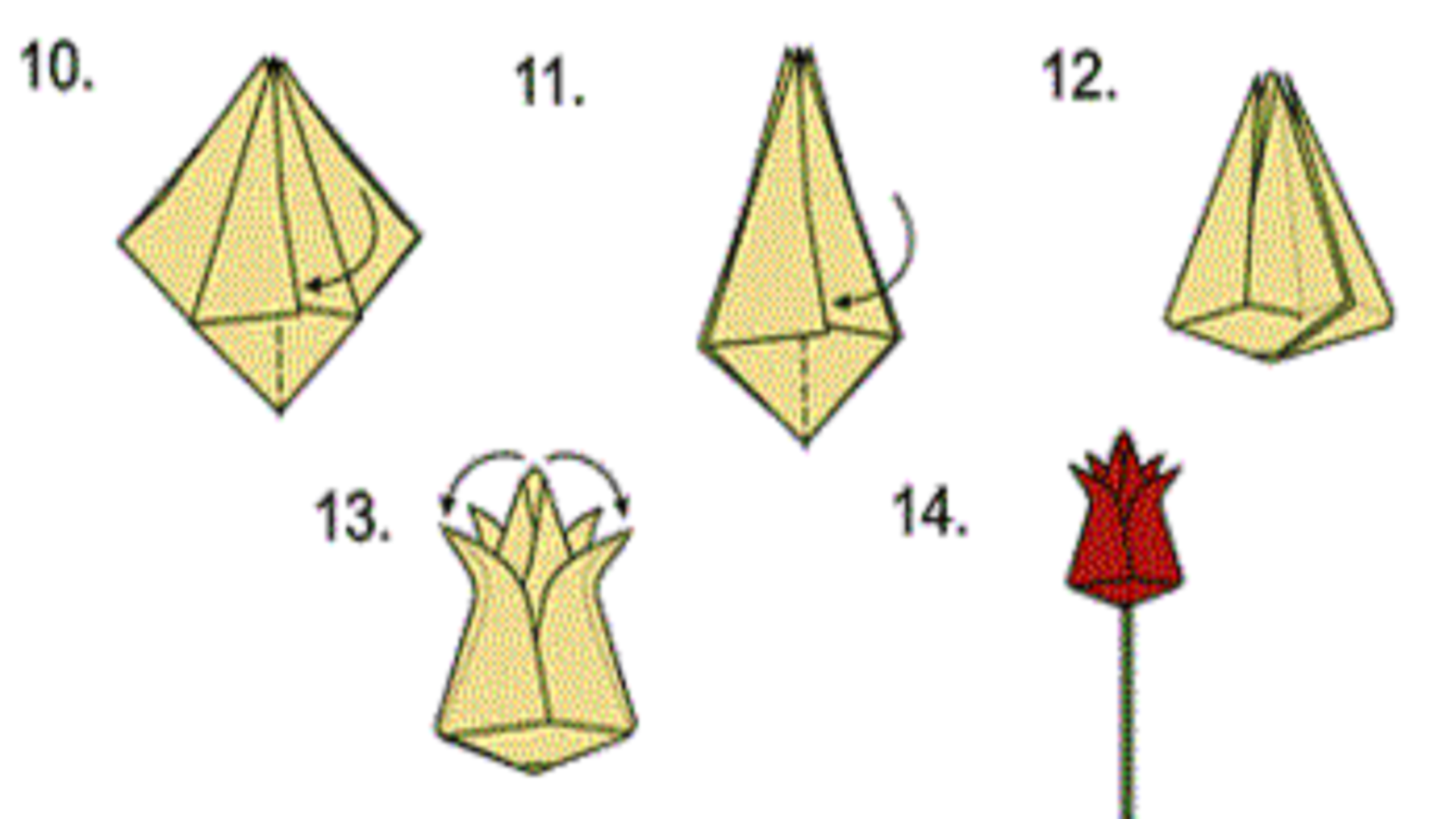 Тюльпан своими руками схема