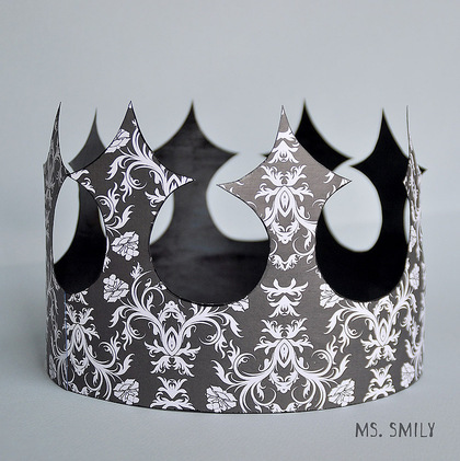 Корона из картона своими руками фото