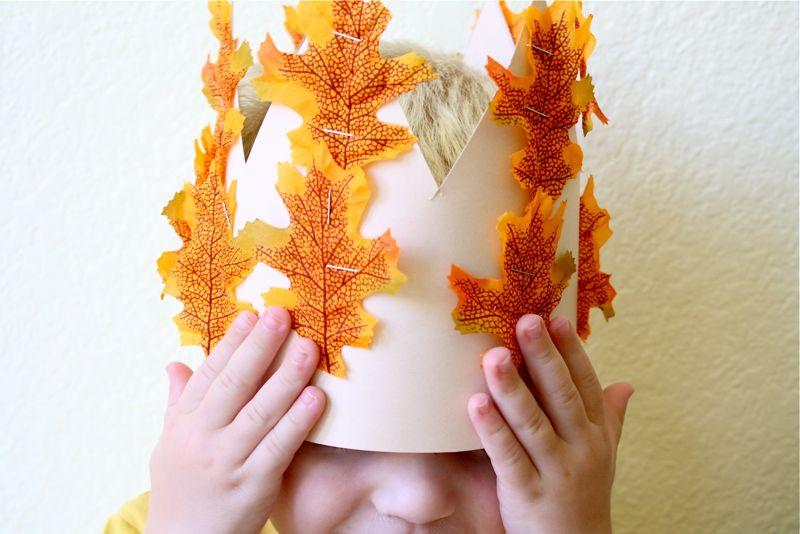 Осенняя корона своими руками