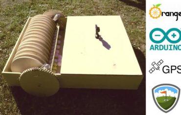 Робот для сбора мячей для гольфа своими руками