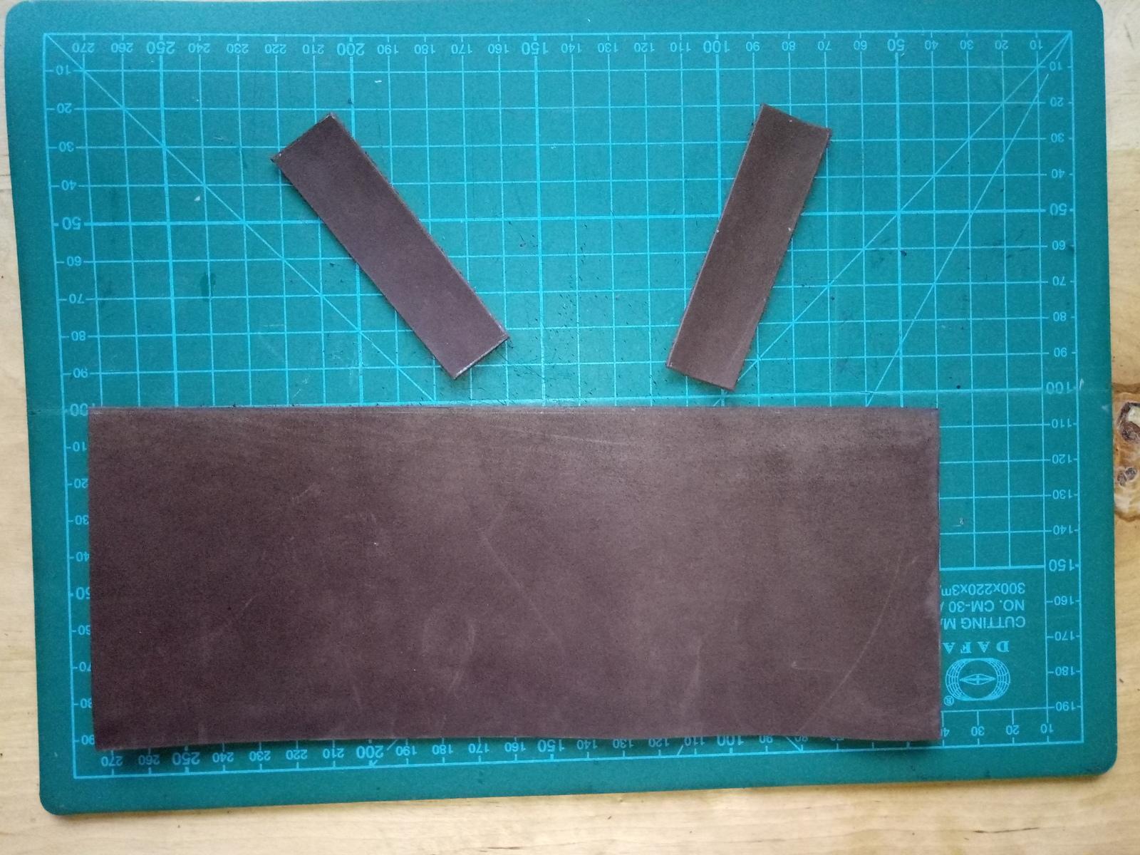 Заготовки для портмоне из кожи