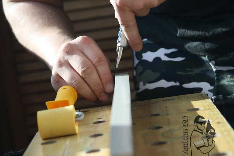 Обработка кромки ЛДСП своими руками