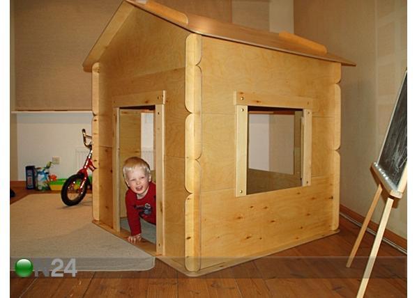 Детский домик своими руками. Фото.