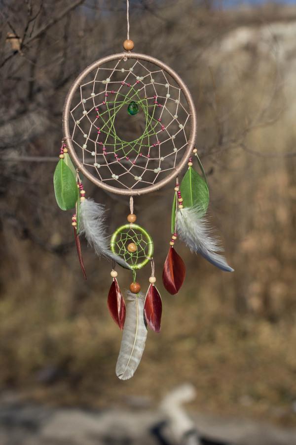 Изготавливаем ловец снов своими руками
