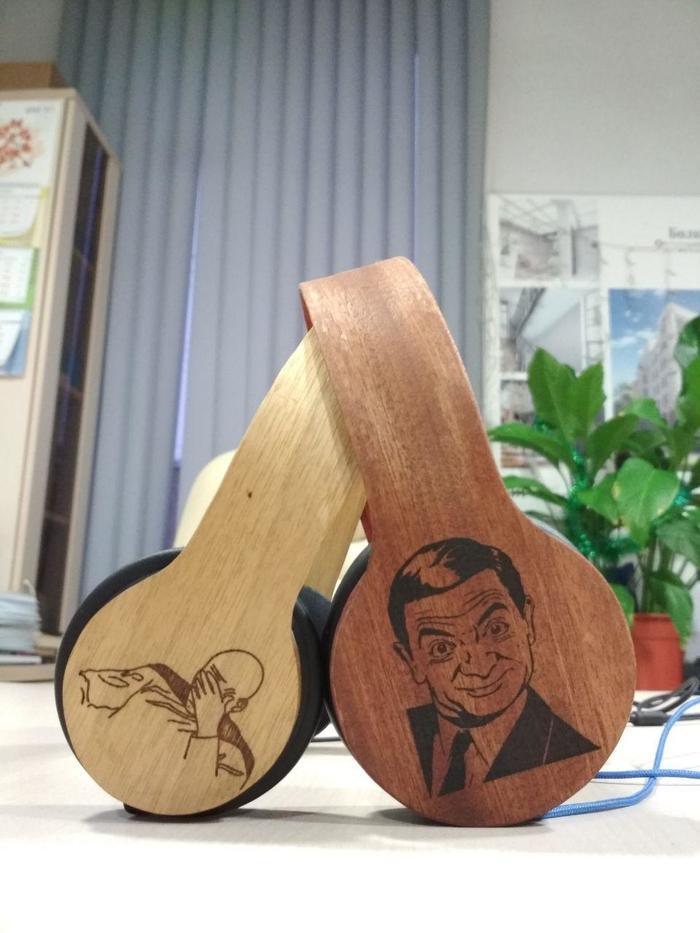 Мастер класс по изготовлению наушников из дерева своими руками.