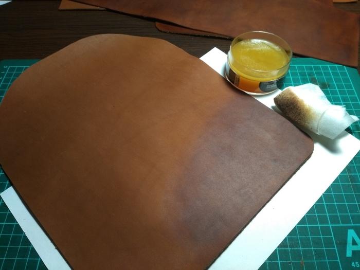 Мастер класс изготовления женского рюкзака из кожи.