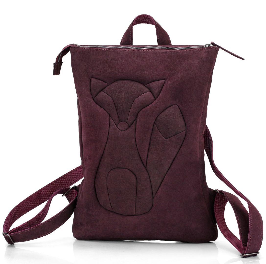 Фотографии необычных и красивых женских рюкзаков из кожи