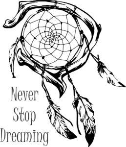 Эскизы и фотографии ловцов снов