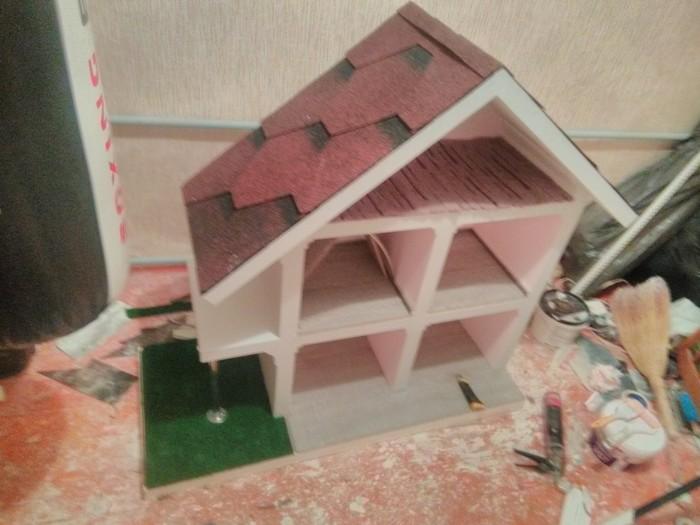 Изготовление кукольного домика своими руками для дочки