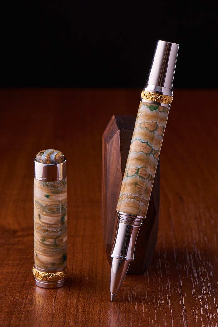 Изготовление ручки из зуба мамонта своими руками