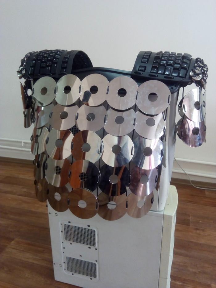 Кольчуга IT-шника изготовленная своими руками
