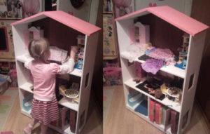 Фотографии кукольных домов своими руками
