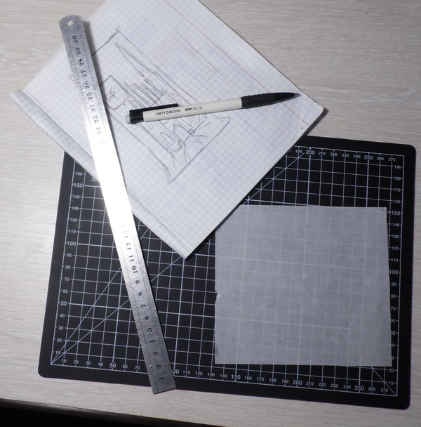 Гравировка на стекле с помощью переноса рисунка, мастер класс