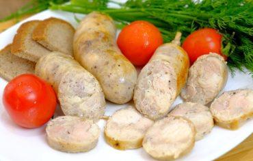 Мастер класс по приготовлению домашней колбаса из курицы, самостоятельно